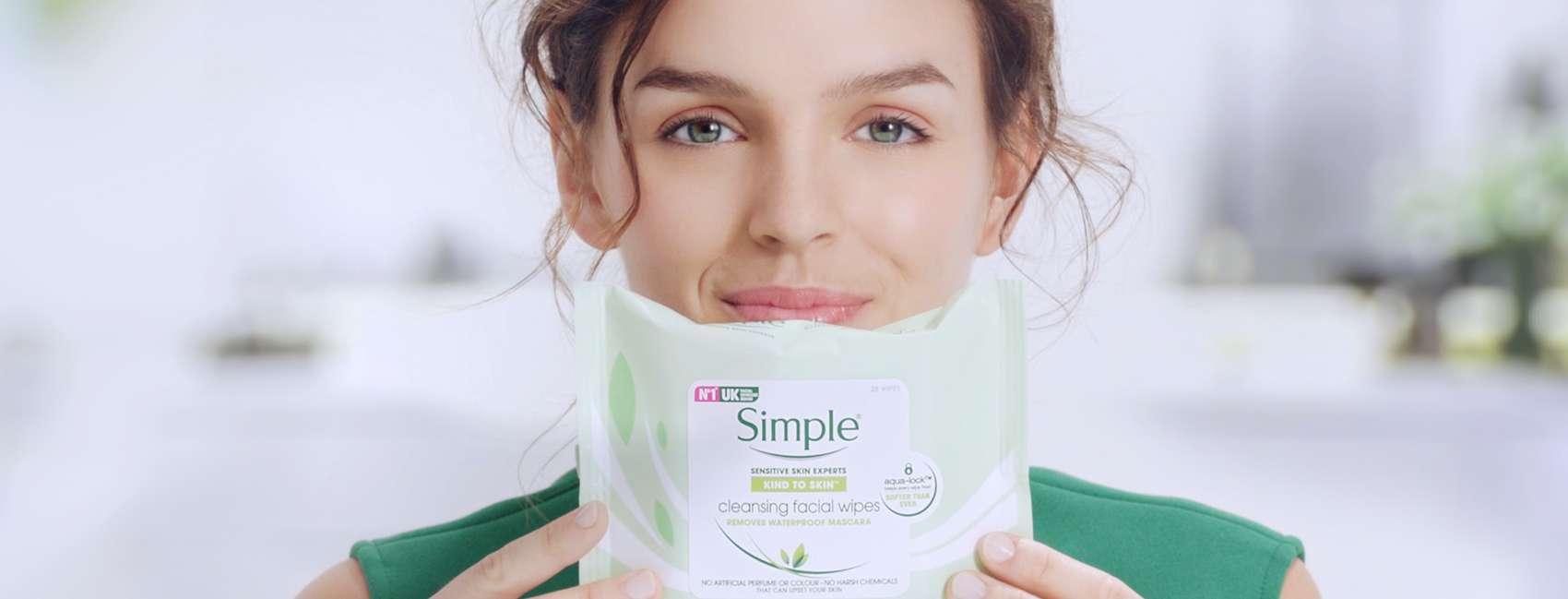 7 savvy skincare tips to try today girl holding wipes BANNER
