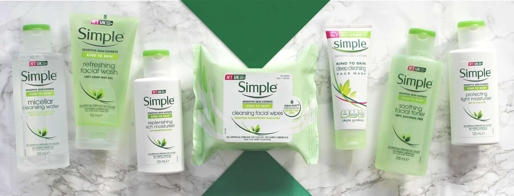 Simple Your daily skincare routine BANNER