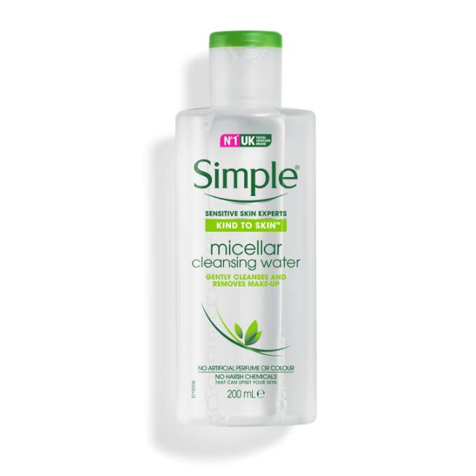 Image result for simple kind to skin toner micellar