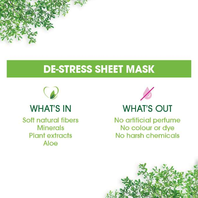 De Stress Sheet Mask In&Out Ecommerce