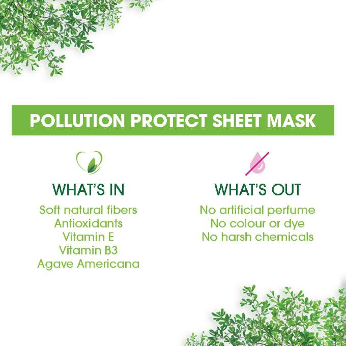 Pollution Protect Sheet Mask In&Out Ecommerce