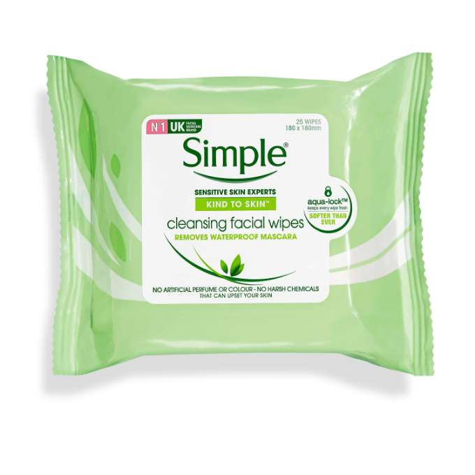 Kind To Skin Cleansing Facial Wipes Simple 174 Skincare