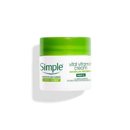 Simple Kind to Skin Vital Vitamin Night Cream