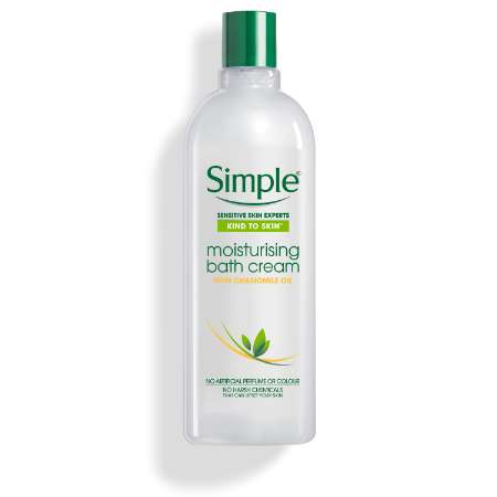 Simple Kind to Skin Moisturising Bath Cream