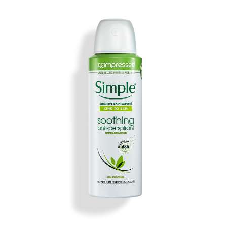 Simple Soothing Anti-perspirant Deodorant Aerosol