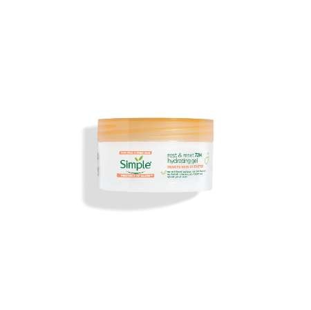 Simple Protect 'n' Glow rest and reset 72h hydrating gel
