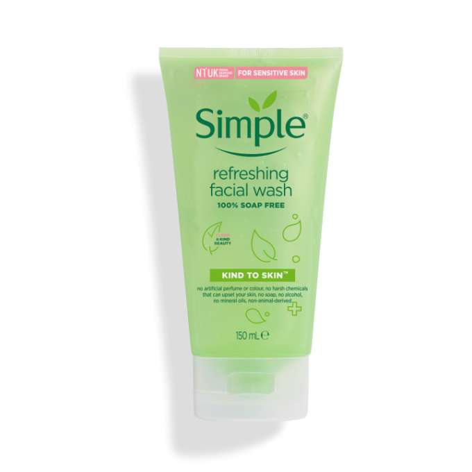Simple KTS Refreshing Facial Wash 150ml