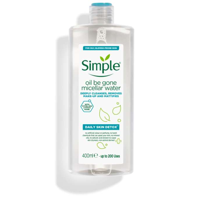 Simple DSD Oil Be Gone Micellar Water 400ml