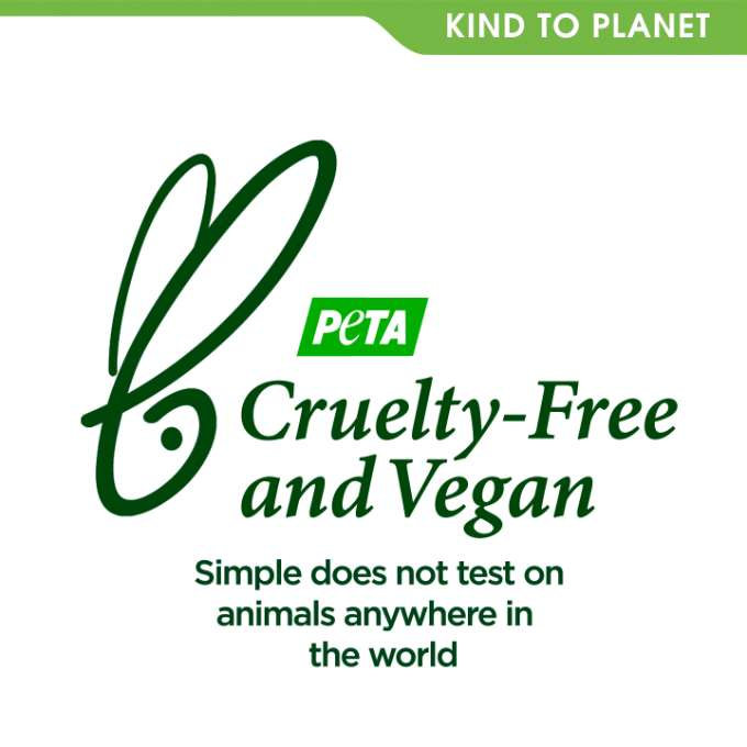 Simple KTS Cleansing Facial Wipes Cruelty Free and Vegan