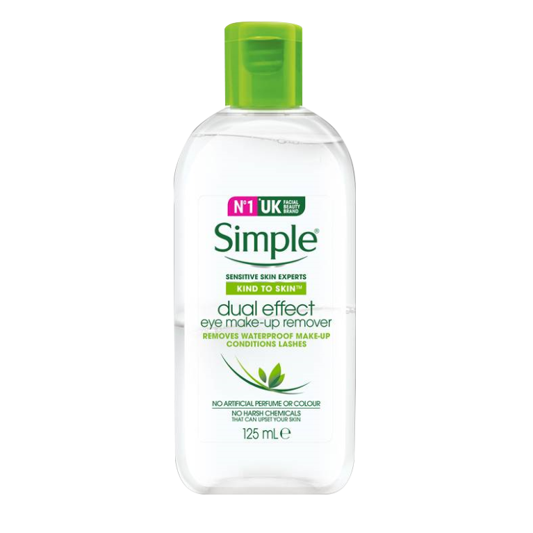 Simple Kind to Eyes Dual-effect Eye Make-up Remover