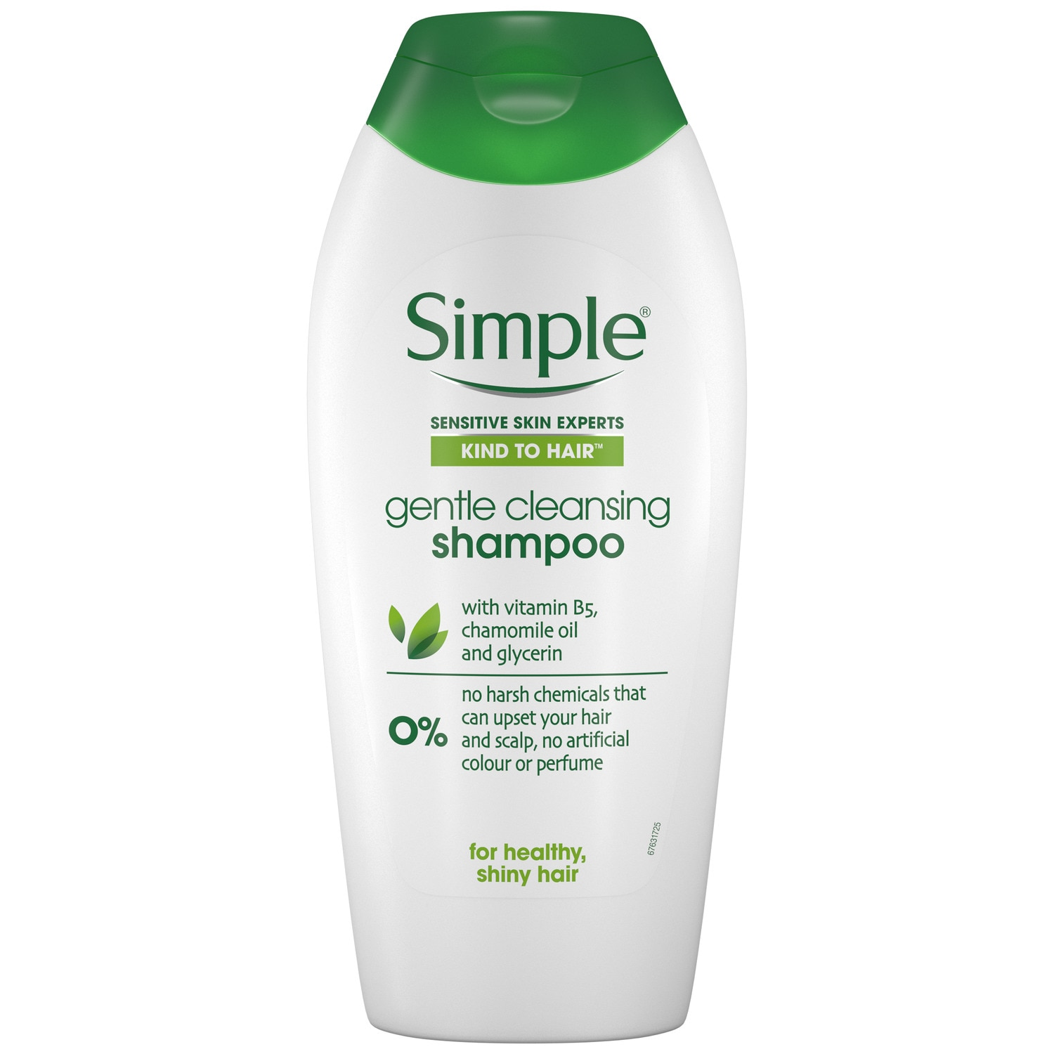 Simple Kind to Hair Gentle Care Shampoo