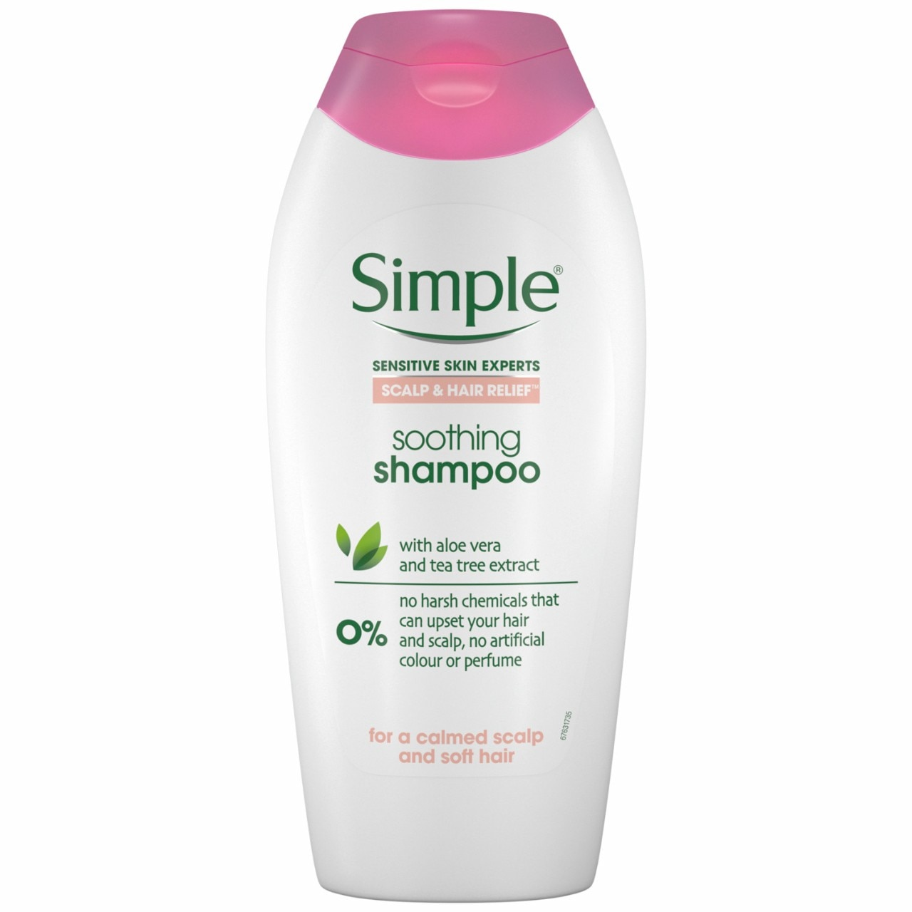 Simple Scalp & Hair Relief Soothing Shampoo