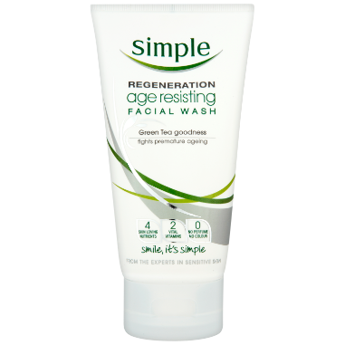 Simple Regeneration Age Resisting Facial Wash