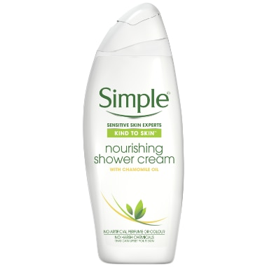 Simple Kind to Skin Nourishing Shower Cream
