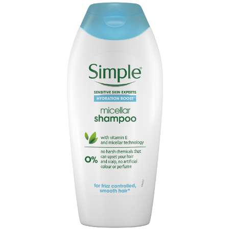 Simple Hydration Boost Micellar Shampoo