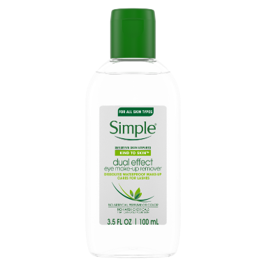 Simple Kind to Skin Eye Makeup Remover Dual Effect 3.38 oz