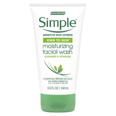Simple Kind to Skin Facial Wash Moisturizing 5 oz