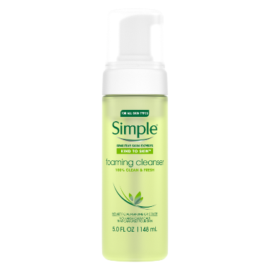 Simple Kind to Skin Facial Care Foaming Facial Cleanser 5 oz