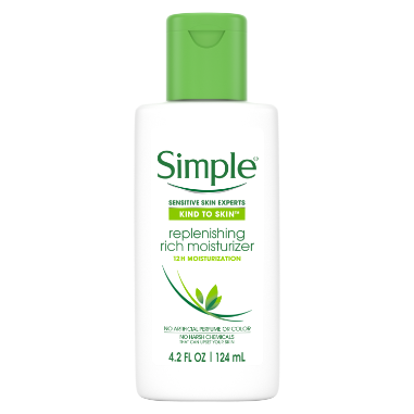 Simple Facial Moisturizer Replenishing Rich 4.2 oz