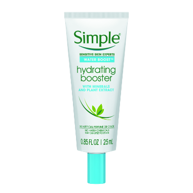 Simple Water Boost Hydrating Booster Sensitive Skin 1 oz