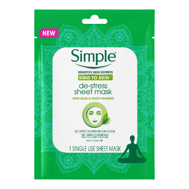 Simple Skin Care Kind to Skin Sheet Mask 1 1N